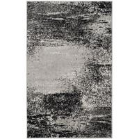 Safavieh Adirondack Modern Abstract Silver/ Multicolored Rug (3' x 5') - 3' x 5'