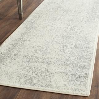 Safavieh Adirondack Ivory/ Silver Rug (2'6 x 20')