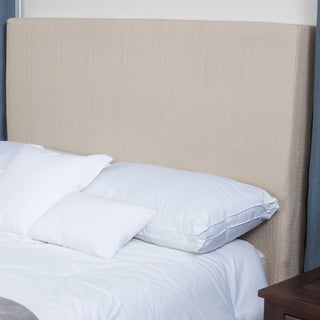 Maddox Natural Fabric Headboard by Christopher Knight Home