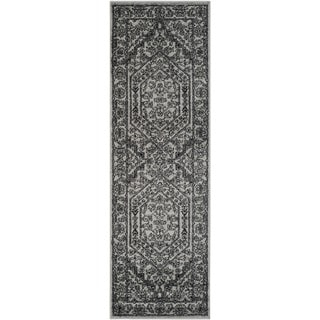 Safavieh Adirondack Silver/ Black Rug (2'6 x 20')