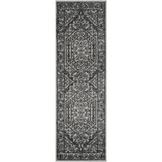 Safavieh Adirondack Vintage Silver/ Black Runner Rug (2'6 x 20')