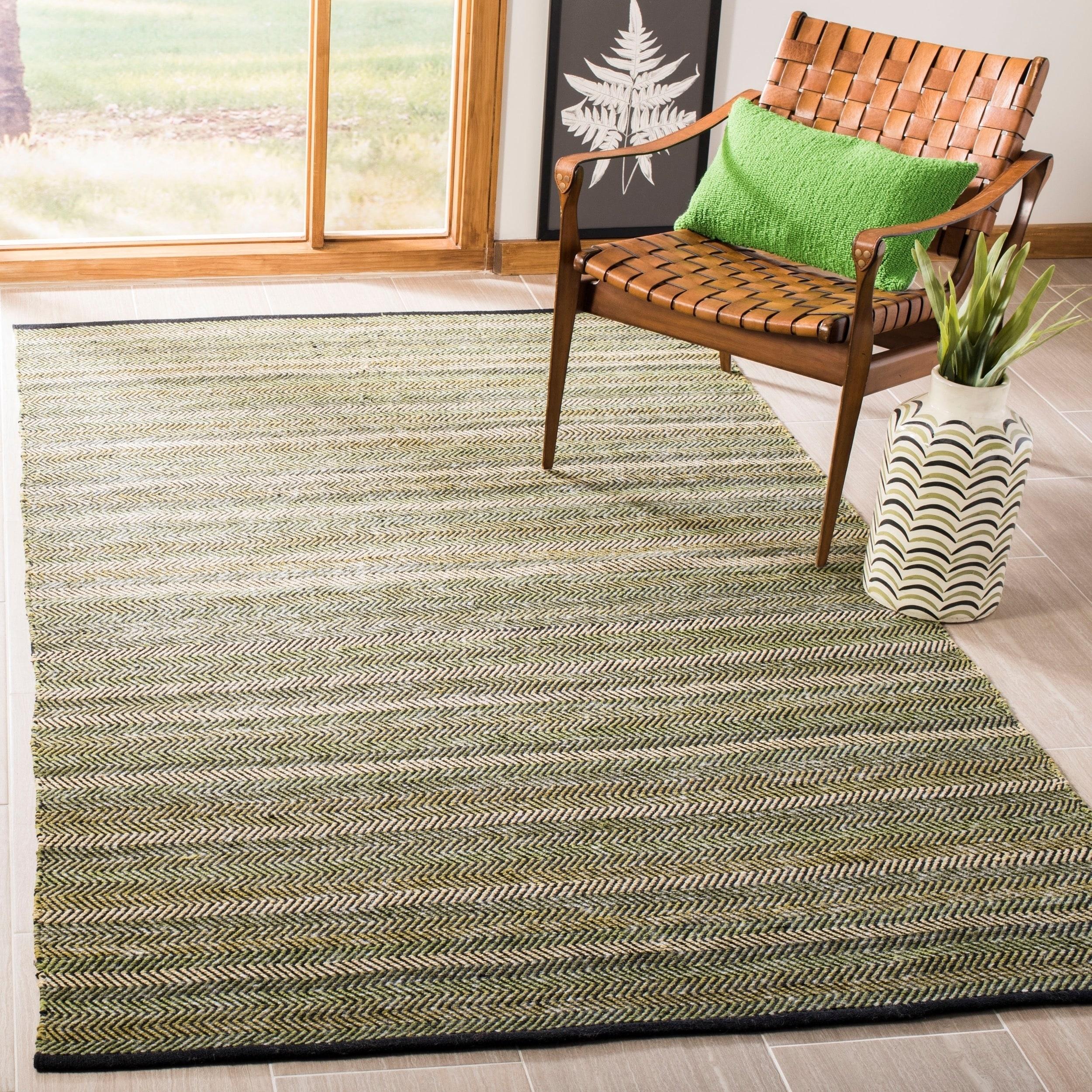 Safavieh Handmade Striped Kilim Clorinda Stripe Wool Rug