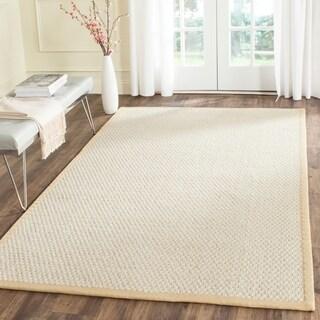 Safavieh Casual Natural Fiber Hand-Woven Sand Sisal Rug (6' x 9')