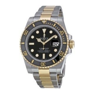 Rolex Men's Submariner Black Dial Watch