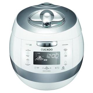 Cuckoo CRP-AHSS1009FN White 10-Cup IH Pressure Rice Cooker 110v