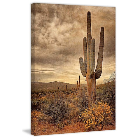 Marmont Hill - Desert Sentinels by Robertson Painting Print on Canvas
