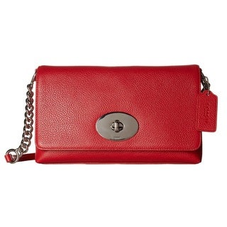 Coach Pebbled Leather Crosstown Crossbody Bag