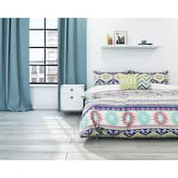 Vesper Aztec 3-piece Cotton Duvet Set