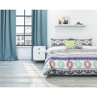 Vesper Aztec 3-piece Cotton Duvet Set