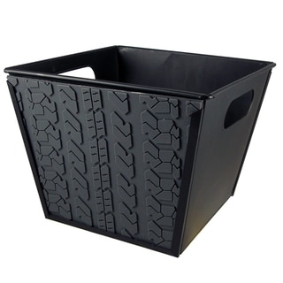 BREKX Tire Tread Galvanized Ice Bucket (Set of 2)