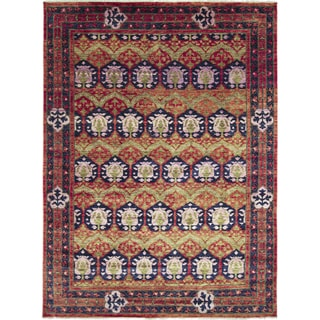 Hand-knotted Ziba Rust Area Rug (10' x 14'3)