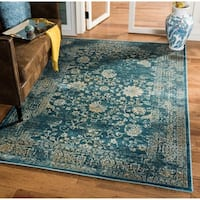 Safavieh Evoke Vintage Oriental Light Blue/ Beige Distressed Rug - 5'1 x 7'6