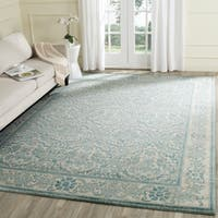 Safavieh Evoke Vintage Oriental Ivory / Light Blue Distressed Rug - 6'7 x 9'