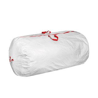 Christmas White Tree Storage Bag for Artificial Trees up to 7 ft.