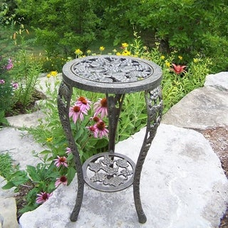 Premium Grape Table Plant Stand