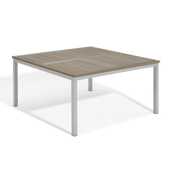 Havenside Home Knotts 60 Inch Square Vintage Dining Table