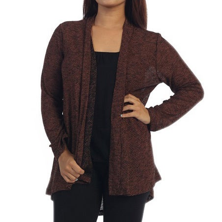 Ella Samani's Plus Size Two-Tone Cardigan