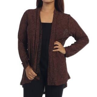 Ella Samani's Plus Size Two-Tone Cardigan|https://ak1.ostkcdn.com/images/products/10972519/P17996022.jpg?impolicy=medium