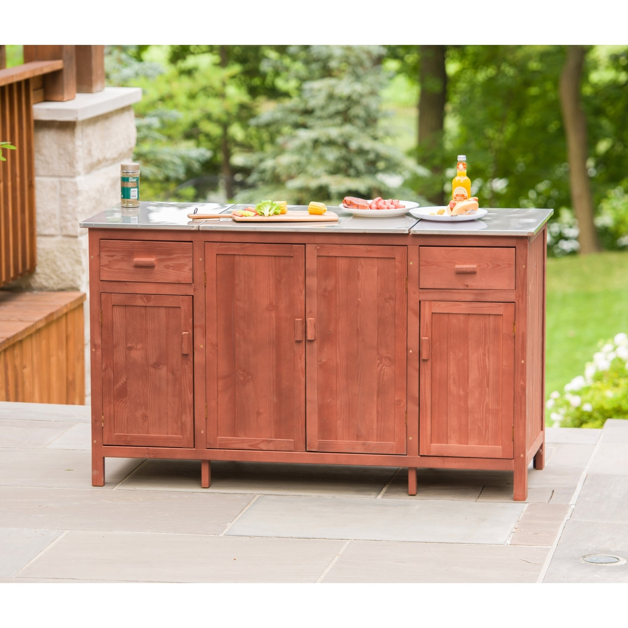 Picture of: Shop Black Friday Deals On Buffet Server With Cooler Compartment 8 X 10 Overstock 10972535