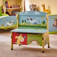 Fantasy Fields - Sunny Safari Storage Bench