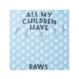 Melannco LED 'All My Children Have Paws' Photo Clip Board
