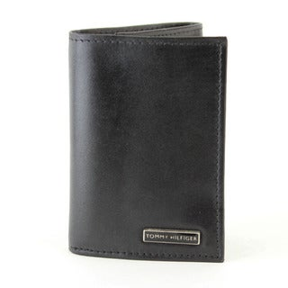 Tommy Hilfiger Men's Trifold Genuine Leather Wallet