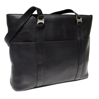 Piel Leather Laptop Computer Tote Bag (4 options available)