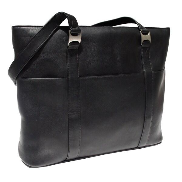 Piel Leather Laptop Computer Tote Bag