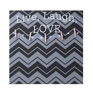 Melannco 'Live, Laugh, Love' Photo Clip Board