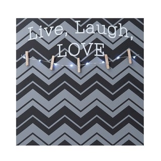 Melannco 'Live, Laugh, Love' Photo Clip Board