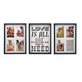 Melannco 'Love Is All We Need' Collages (Set Of 3)