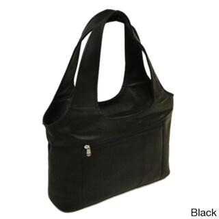 Piel Leather Laptop Hobo Bag (4 options available)