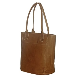 Piel Leather XL Laptop Tote Bag