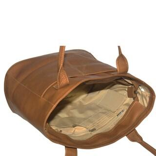 Piel Leather XL Laptop Tote Bag