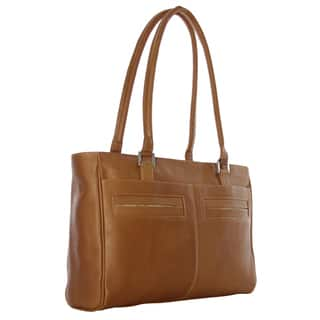 Piel Leather Women's Laptop Tote with Pockets|https://ak1.ostkcdn.com/images/products/10972599/P17996166.jpg?impolicy=medium