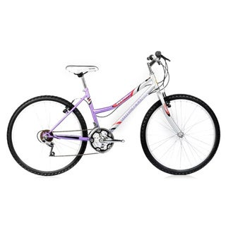 Micargi M50 26-inch Purple/ White Women's 18-speed Moutain Bike