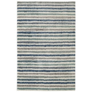 Mohawk Home Laguna Boardwalk Stripe Blue (8' x 10')