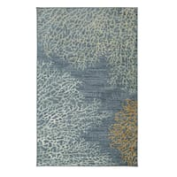 Havenside Home Kennebunkport Coral Reef Area Rug - 7'6 x 10'