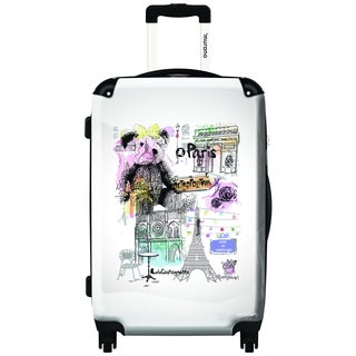 Murano by iKase Lulu in Paris 20-inch Carry On Hardside Spinner Suitcase