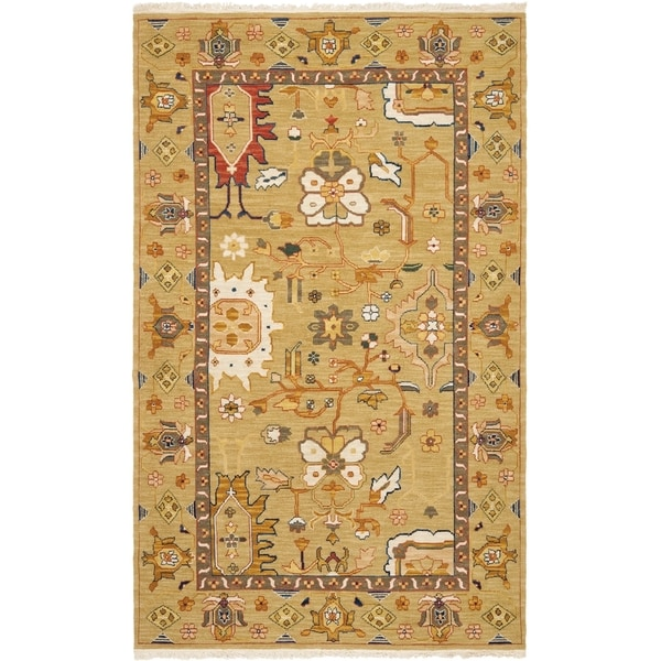 Safavieh Hand-woven Sumak Assorted Wool Rug - 5' x 8'