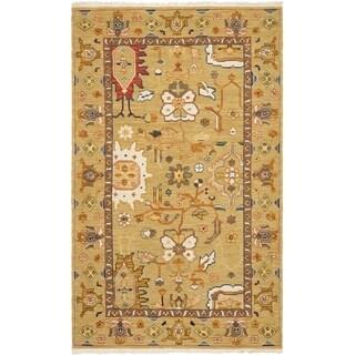 Safavieh Handmade Sumak Sylke Traditional Oriental Wool Rug with Fringe