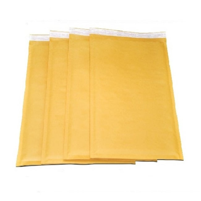 Nike Size 0 Self-seal Brown Kraft Bubble Mailers 6.5 x 10...