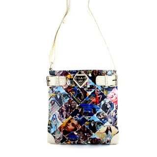 LANY 'Paparazo' Print 11-Inch Cross- Body Messenger Bag