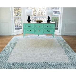 Mohawk Home Laguna Spotted Border Rug (8' x 10') - 8' x 10' (2 options available)