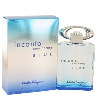 Salvatore Ferragamo's Incanto Pour Homme Blue Men's 3.4-ounce Eau de Toilette Spray