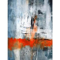 Art in Style Winter Sky Giclee on Canvas Wall Art