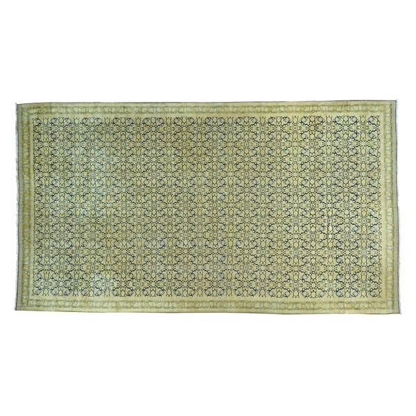 Antique Laristan Handmade Rug (8'9 x 16')