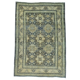 Antique Persian Kerman Oriental Handmade Rug (9'5 x 14')