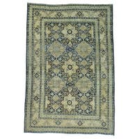 Antique Persian Kerman Oriental Handmade Rug