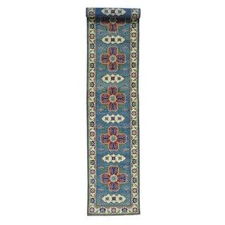 Kazak Oriental Wool Handmade XL Runner Rug (2'8 x 15'7)